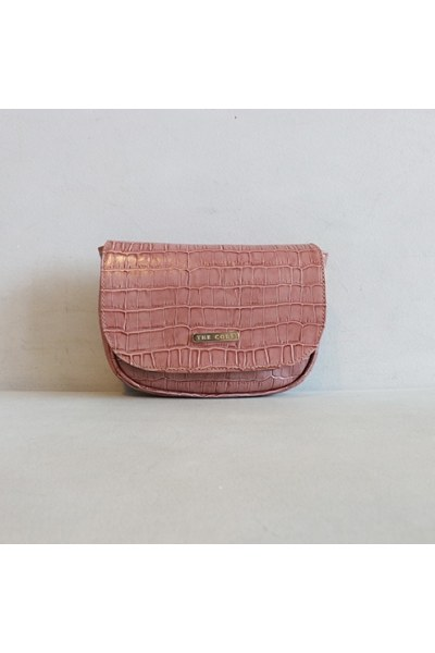 RIÑONERA DE PIEL Belt Bag ROSA PALO